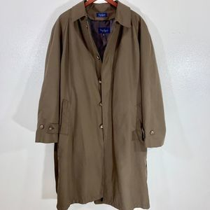 Turnbury Trench Coat w/ RemovableLiner Brown 40R